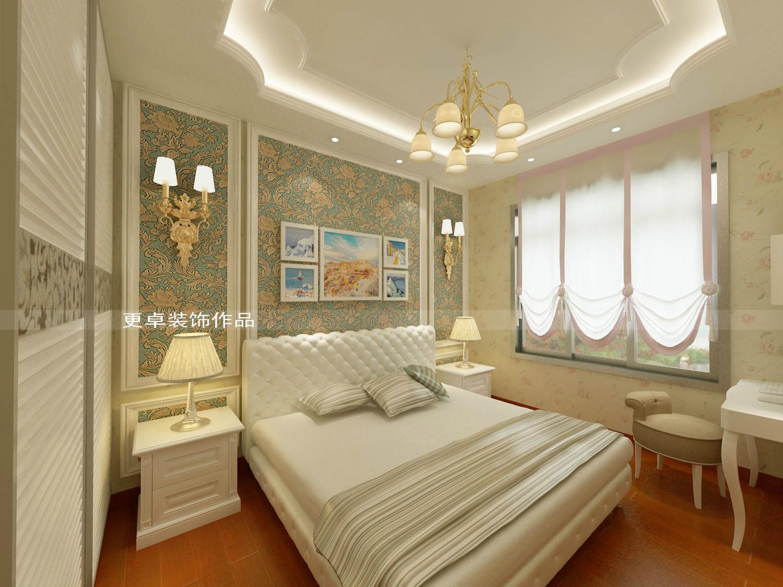 次卧简欧风格 - 更卓装饰设计有限公司 - 涪风家居家居