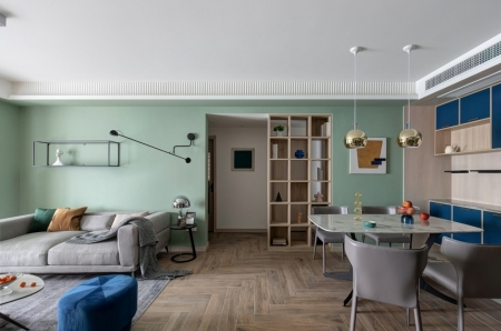 交换空间装饰—混搭风格